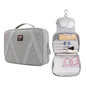 e302897333 Amazon.com  BUBM Travel Hanging Toiletry Kit Bag