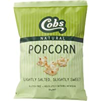 Cobs Natural Lightly Salted and Slightly Sweet Popcorn, 30 x 30 Grams