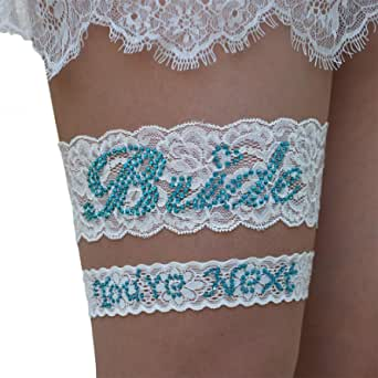 slight flaws plus size bridal garter on sale ready to ship blue lace plus size bridal garter Something blue ready to ship clearance