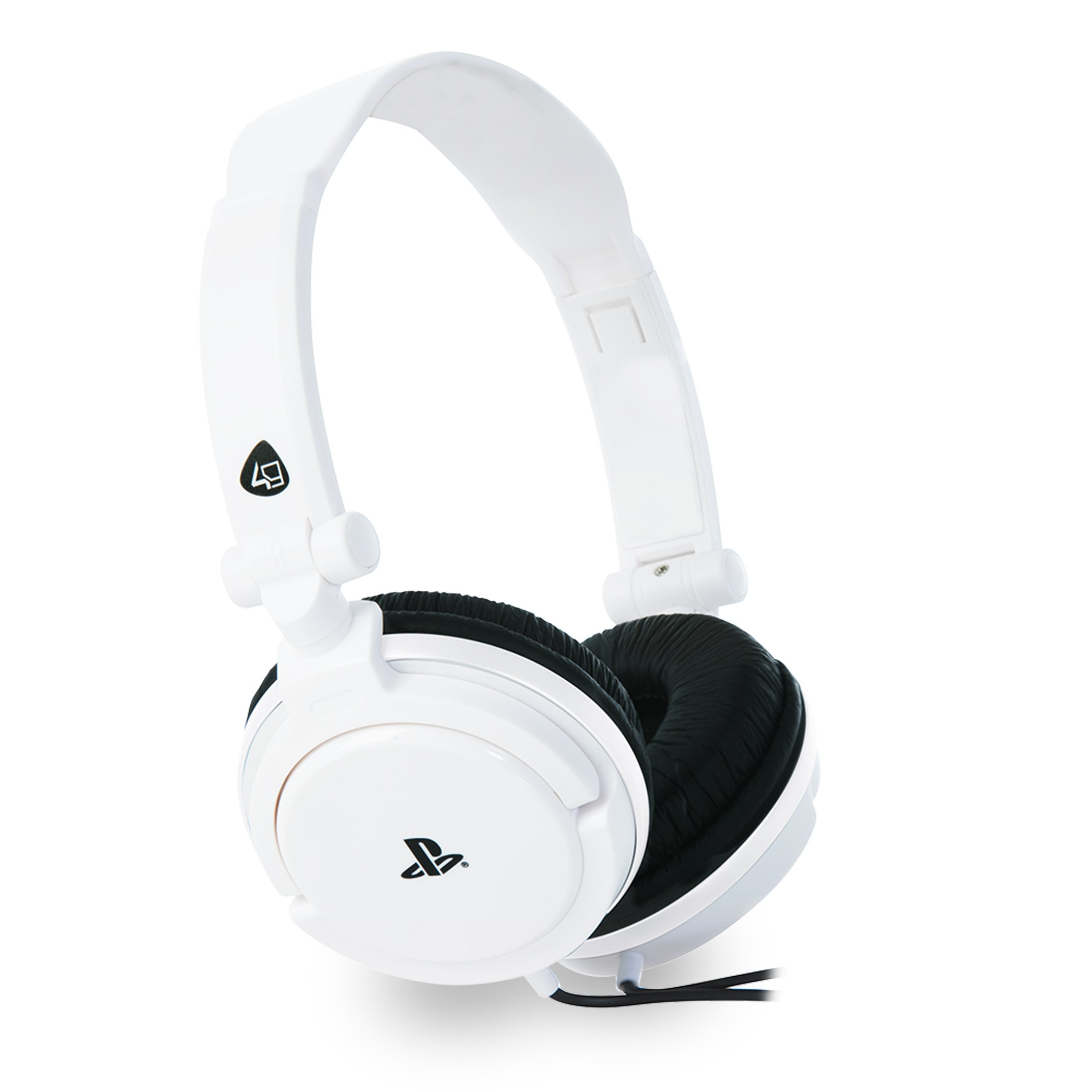 Licensed Ps4 4-10 Pro Stereo Gaming Headset White (ps4)