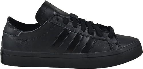 adidas court vantage noir