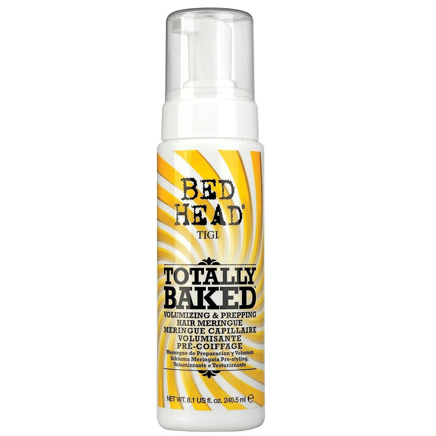 Bed Head Totally Baked Volumizing & Prepping Hair Meringue by TIGI for Unisex - 7 oz Styler 140370 STYLTOTALLYBAKED207