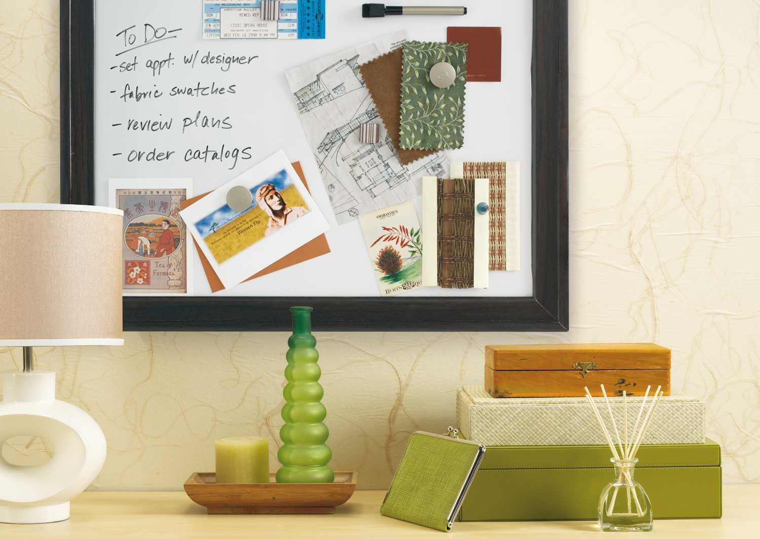 Amazon.com : Quartet Two Tone Home Décor Magnetic Dry Erase Board, 11 X 17  Inches, Espresso Wood Frame (HDW1117B) : Whiteboard : Office Products