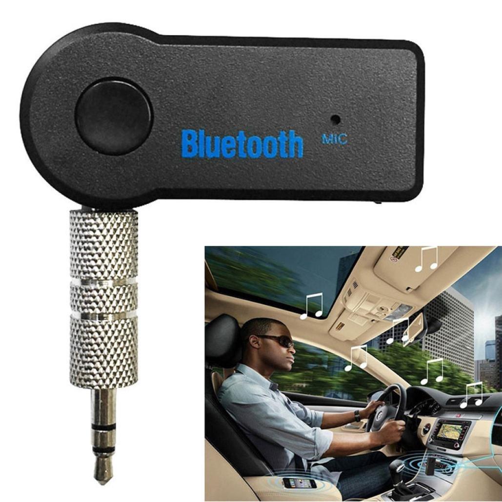 AMUSTER Bluetooth sans fil de 3.5 mm audio st/ér/éo musique r/écepteur soutien illimit/é tablette plus compatible portable PSP portable de voiture de bureau