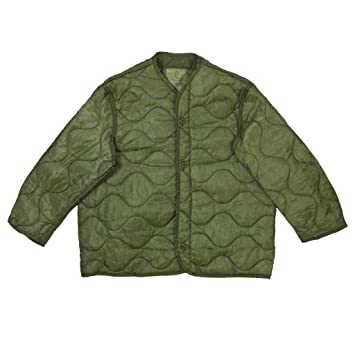 Foliage Green Quilted M-65 Field Jacket Liner e35dcdc49b5
