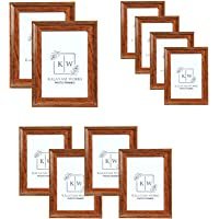 Kalayam Works Picture Frames Set of 10 - Two 8x10 Inches in, Four 5x7 Inches in, Four 4x6 Inches (125-2/10)