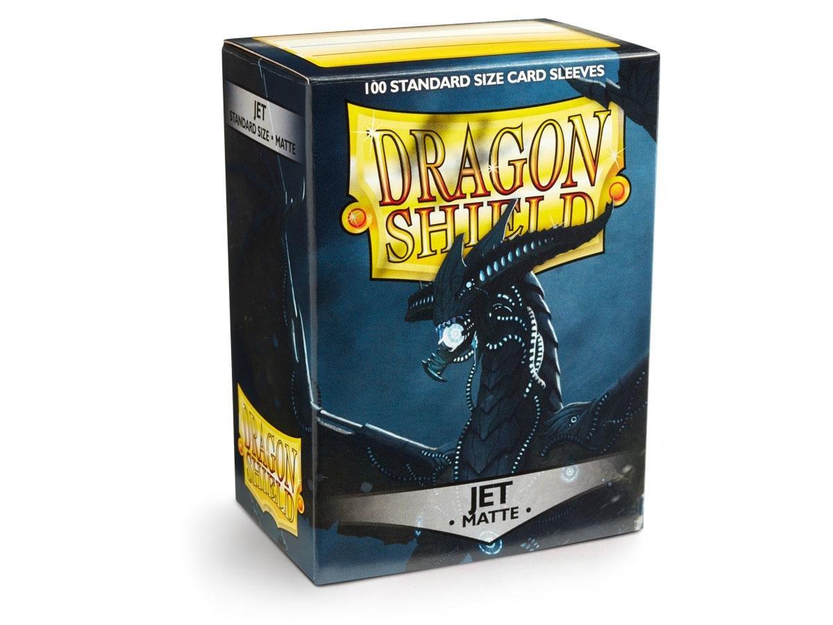 Dragon Shield Matte Jet Standard Size Card Sleeves Display Box [10 Packs] by Dragon Shield (Image #1)