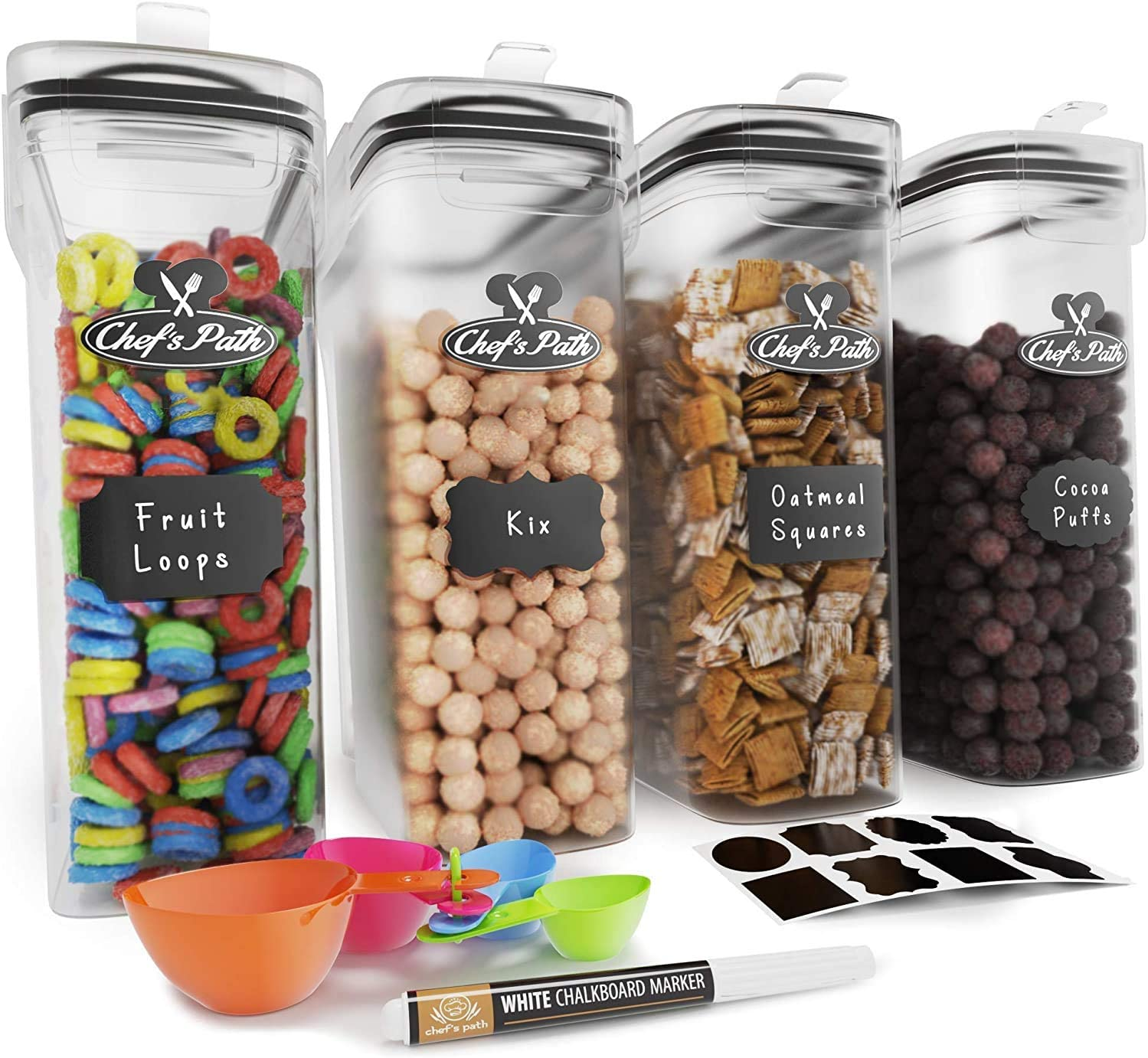 Chef's Path 135.2oz Cereal Container Storage Set $21.22 Coupon