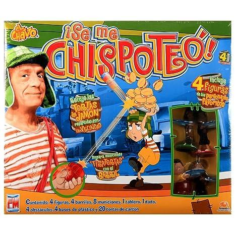 Amazon Com El Chavo Se Me Chispoteo Juego De Mesa Toys Games
