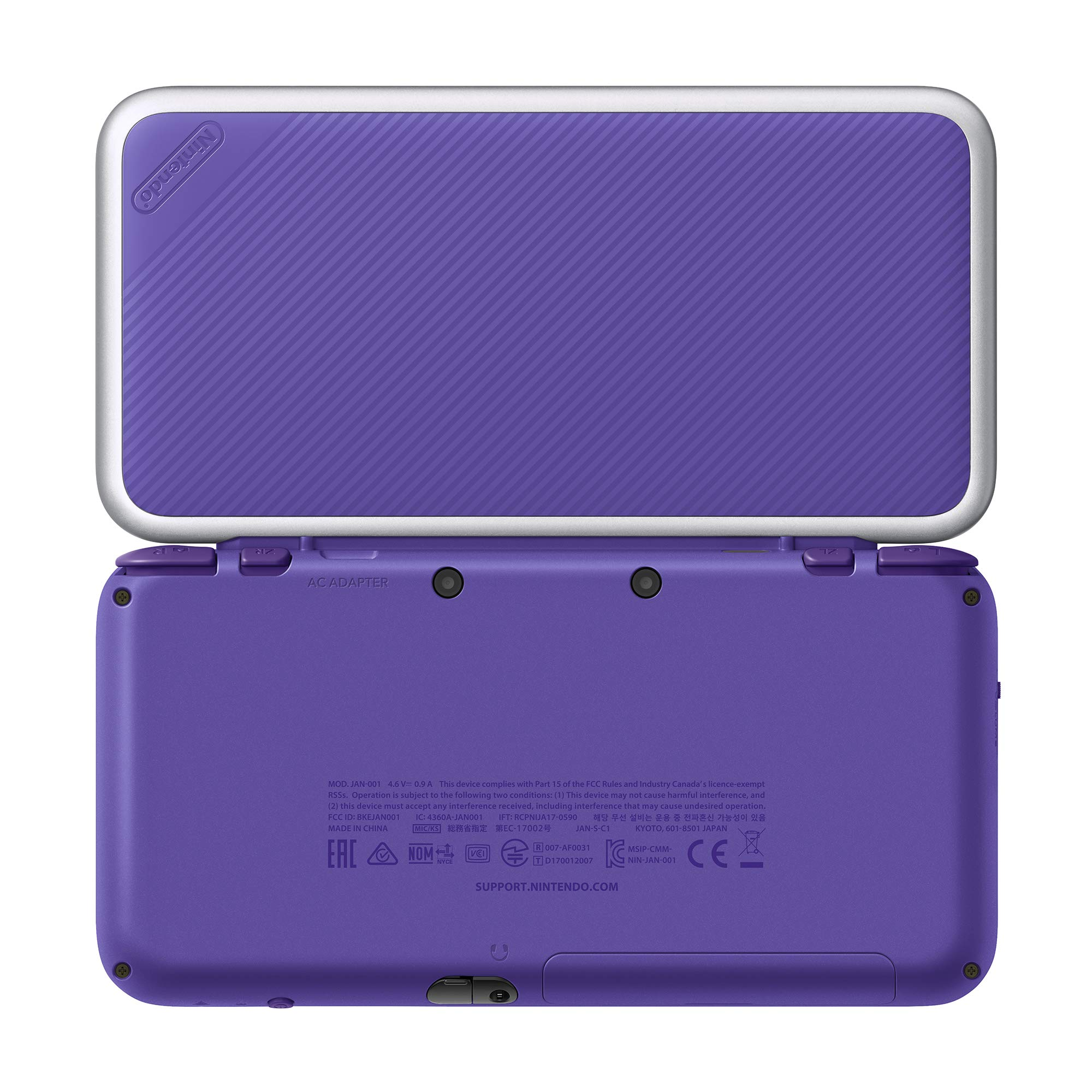 New Nintendo 2DS XL - Purple + Silver With Mario Kart 7 Pre-installed - Nintendo 2DS by Nintendo (Image #4)