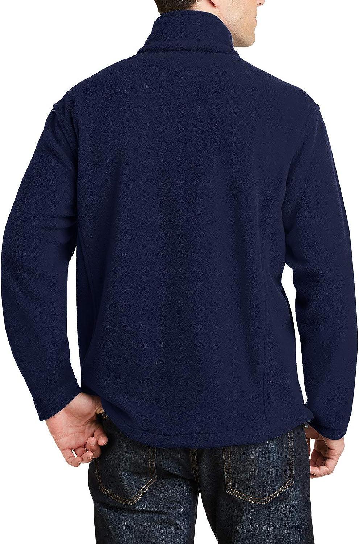 Mens Long Sleeve Value Fleece 1//4-Zip Pullover