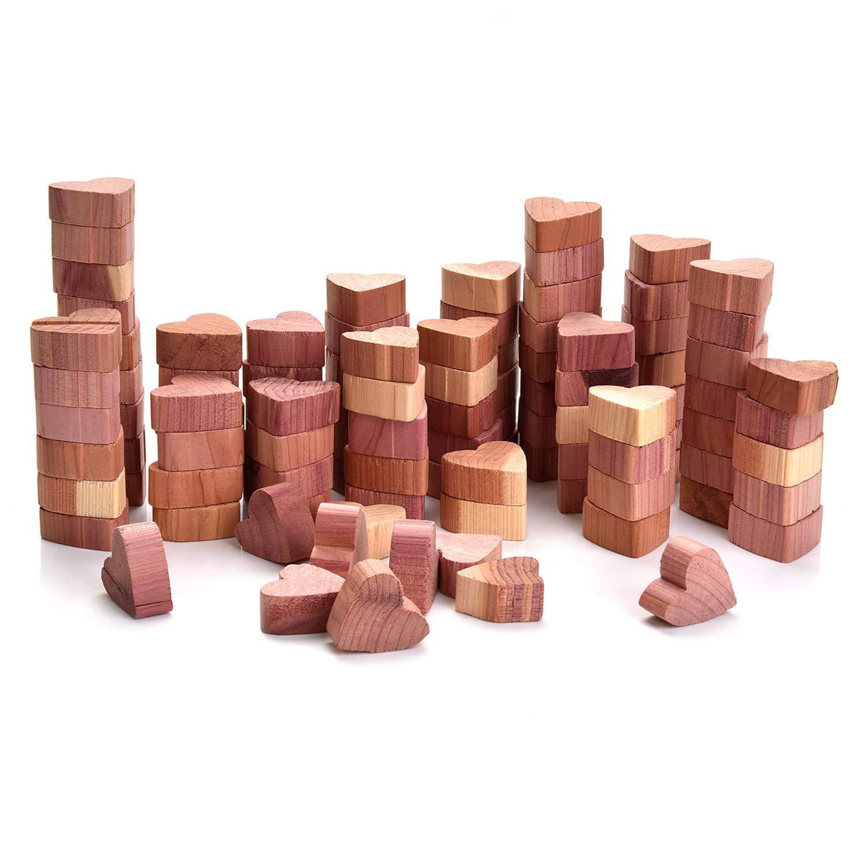 corazones de madera gorditos antipolillas