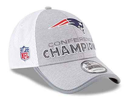 Amazon.com   New England Patriots New Era 2017 AFC Champions Locker ... 9132c4de0c9