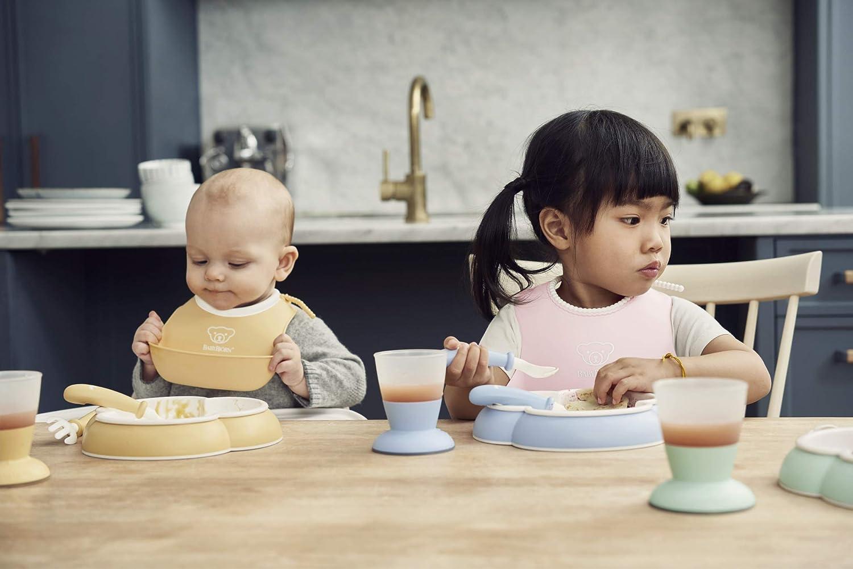 Powder Blue BABYBJ/ÖRN Baby Feeding Set