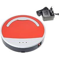 Vinteky®Robot aspirador y Limpieza de Suelos Alto rendimiento de limpieza Programable Limpia varias habitaciones Atrapa el pelo de mascotas Cargado por batería o cargador Diámetro 28,6 cm autonomía 10 min/20min/Max