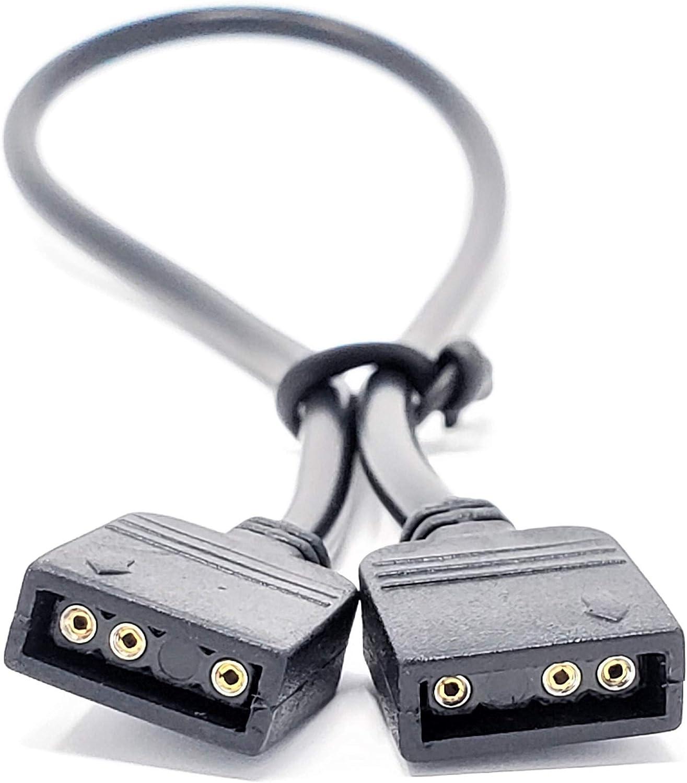 MICRO CONNECTORS 50cm Addressable RGB Extension Cable Inc