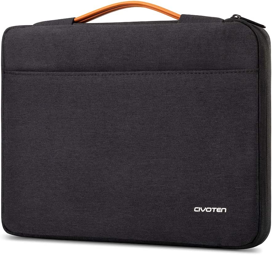 Civoten 13.3 Inch Laptop Sleeve Case Notebook Bag 360° Protective Handbag for MacBook Air/13.5