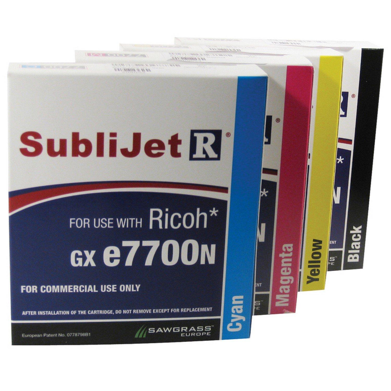 SAWGRASS Cartuchos sublimación para Ricoh gx7700 A3 ...