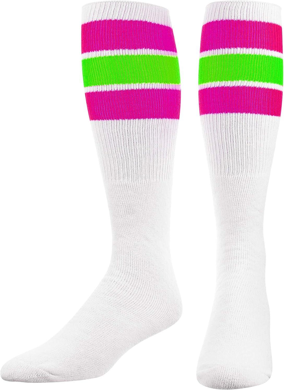 TCK Retro 3 Stripe Tube Socks