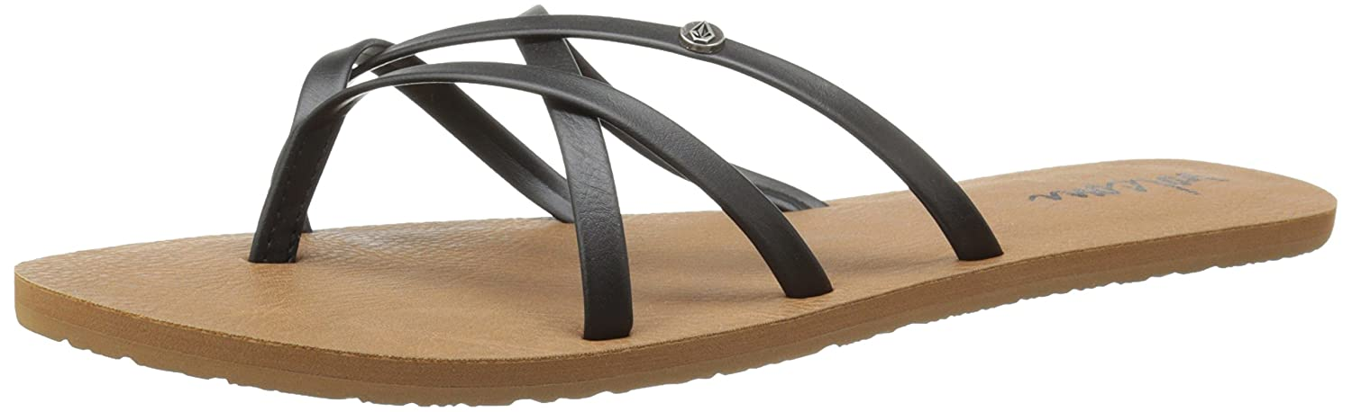 ddeca07e91fa14 Volcom New School Womens Sandal Dress Black  Amazon.ca  Shoes   Handbags