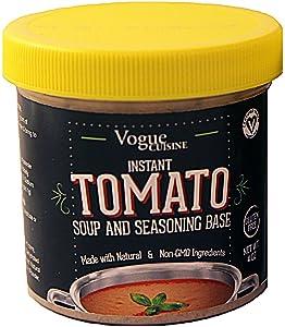Vogue Cuisine Tomato Soup & Seasoning Base 4oz - Reduced Sodium & Gluten Free