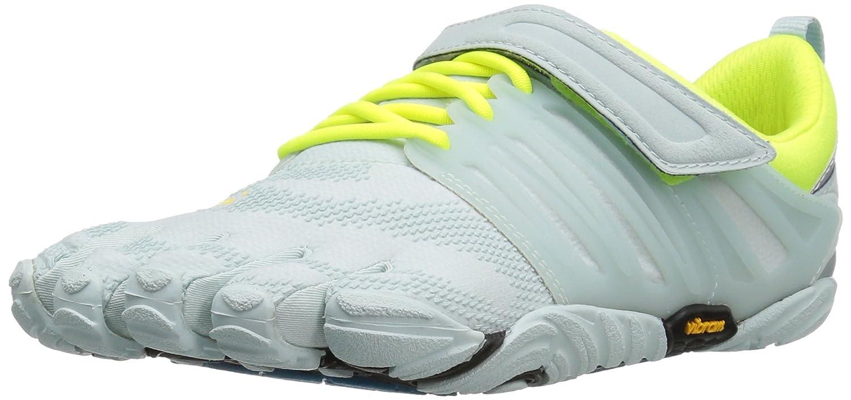 Vibram Women's V-Train Cross-Trainer Shoe B01H8PR08O 38 EU/6.5-7 M US|Pale Blue/Safety Yellow