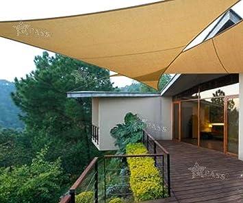 generic ca garden park ing canopy sail patio garde 3 x 3 x 3 m avec