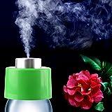 USB Air Humidifier, Portable Mini Water Bottle Cap Mist Maker Steam Diffuser for Travel Home Office Car, Random Color