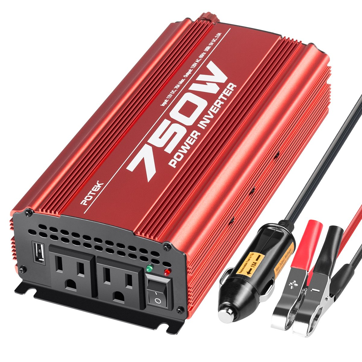Power Inverter (Red)
