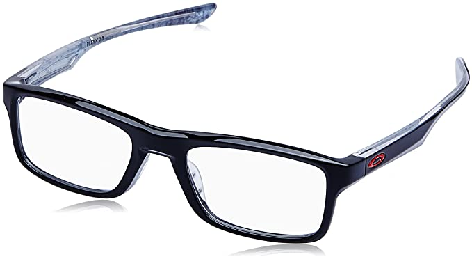 51f29218dd Image Unavailable. Image not available for. Color  OAKLEY Eyeglasses PLANK  2.0 (OX8081-0253) Polished Black 53MM