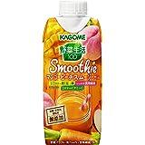 カゴメ 野菜生活100 Smoothie マンゴーピーチスムージーMix 330ml×12本
