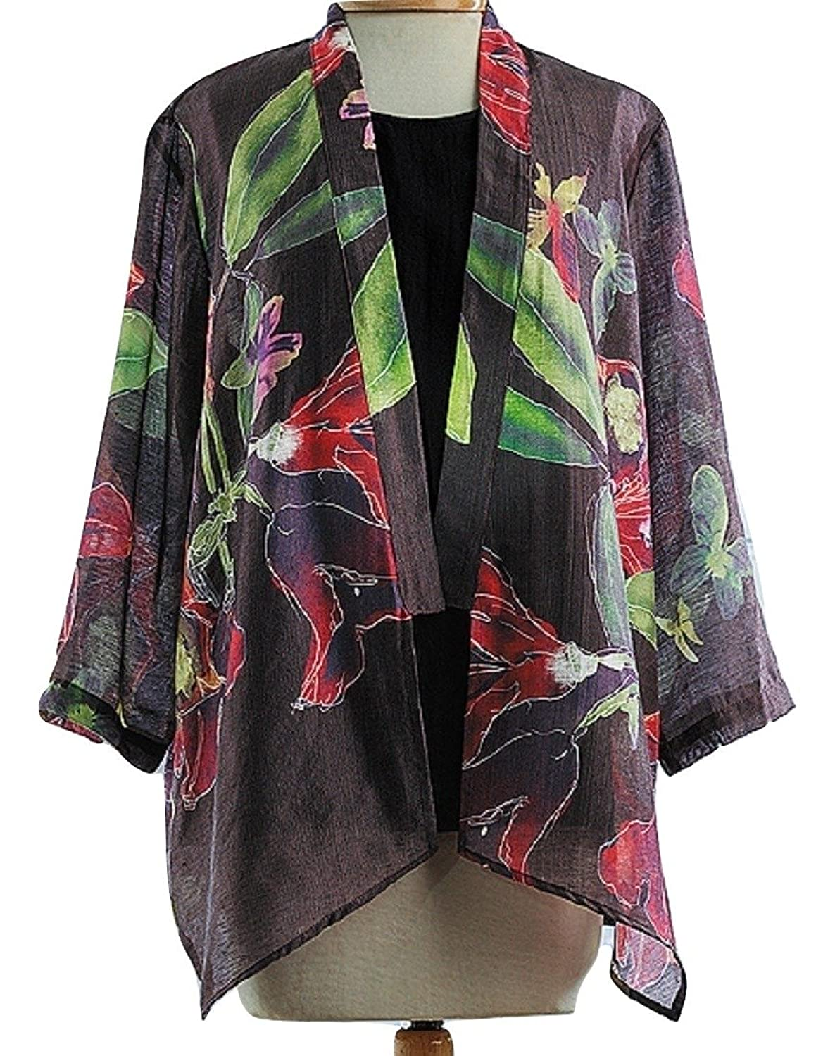 5e63e94be6a1 50%OFF Dressori Women's Watercolor Garden Jacket Large - seliba-sa ...