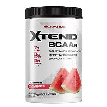 Scivation - Xtend - Suplemento de aminoácidos de cadena ramificada (BCAA) - Sandía - 30 raciones: Amazon.es: Salud y cuidado personal