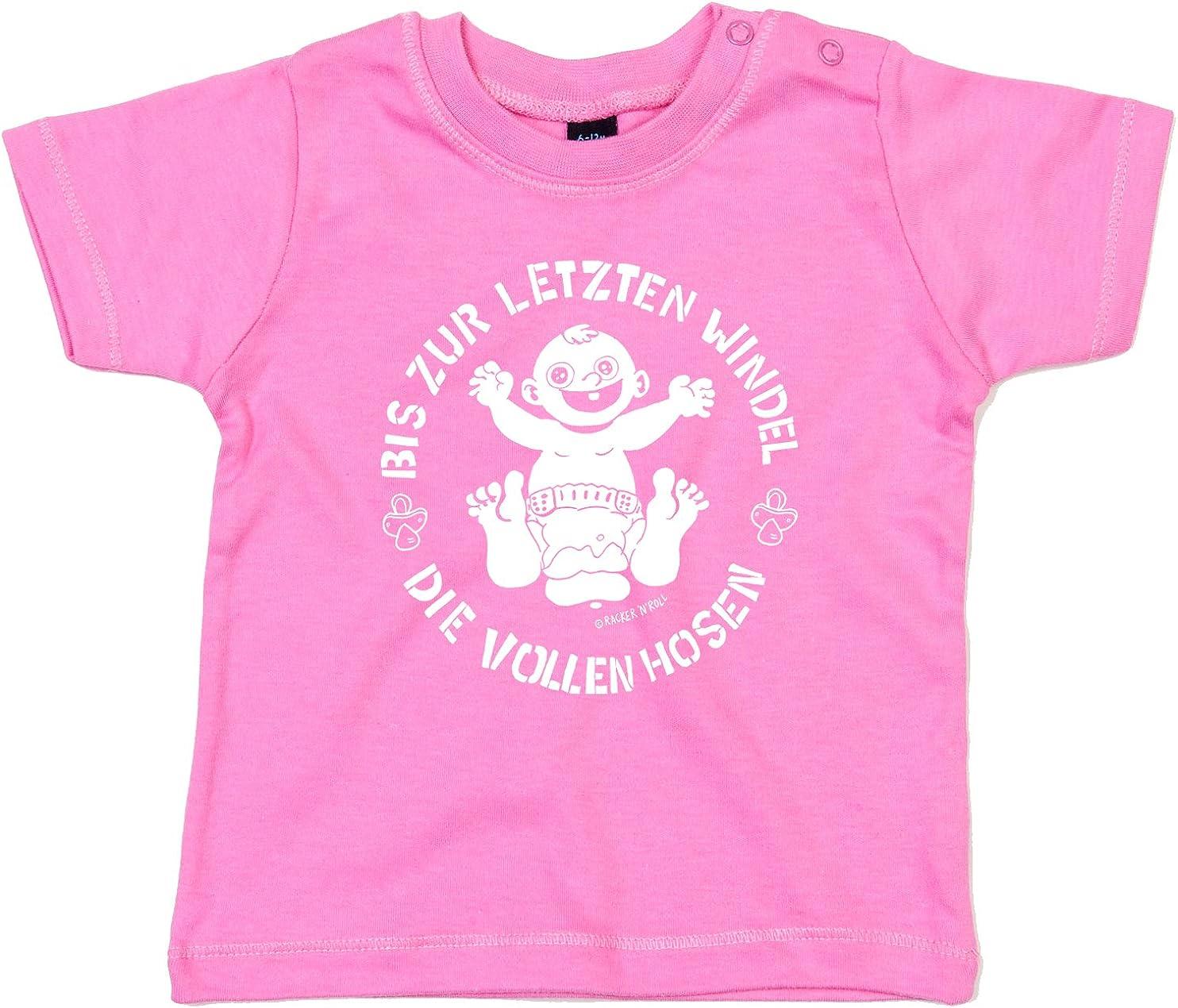 DIE VOLLEN HOSEN Bis zur letzten Windel Pink Baby-T-Shirt