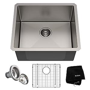 Kraus KHU101-21 Standart PRO Kitchen Stainless Steel Sink 21 Inch