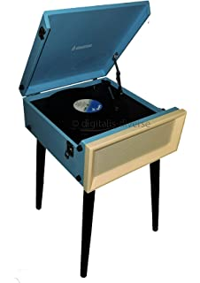 Steepletone SRP1R 15 3 Speed Retro Vinyl Record Player