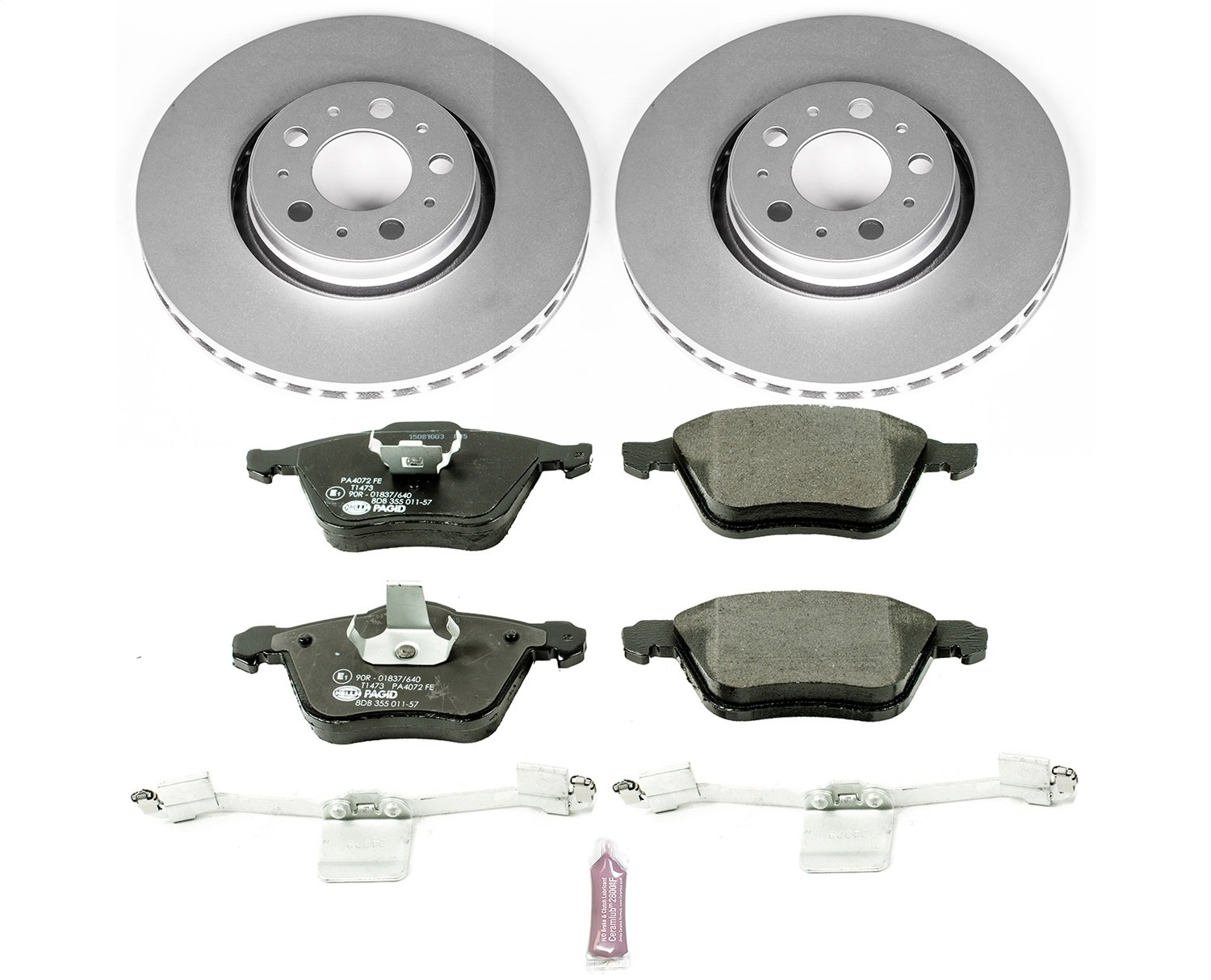 Power Stop ESK3063 Front Euro-Stop Brake Kit