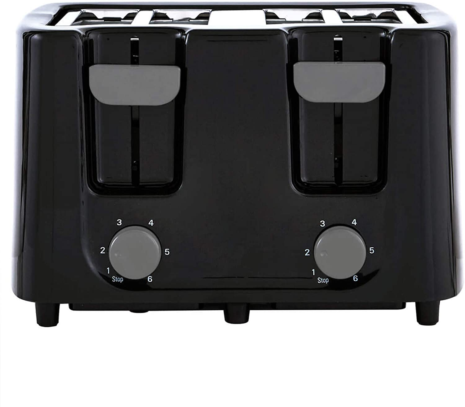 Continental Electric CE-TT029 Toaster, 4 Slice, Black