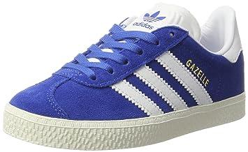 online store 09f02 97337 adidas pour Enfant Gazelle Bb2506 Baskets Taille Unique BleuBlanc
