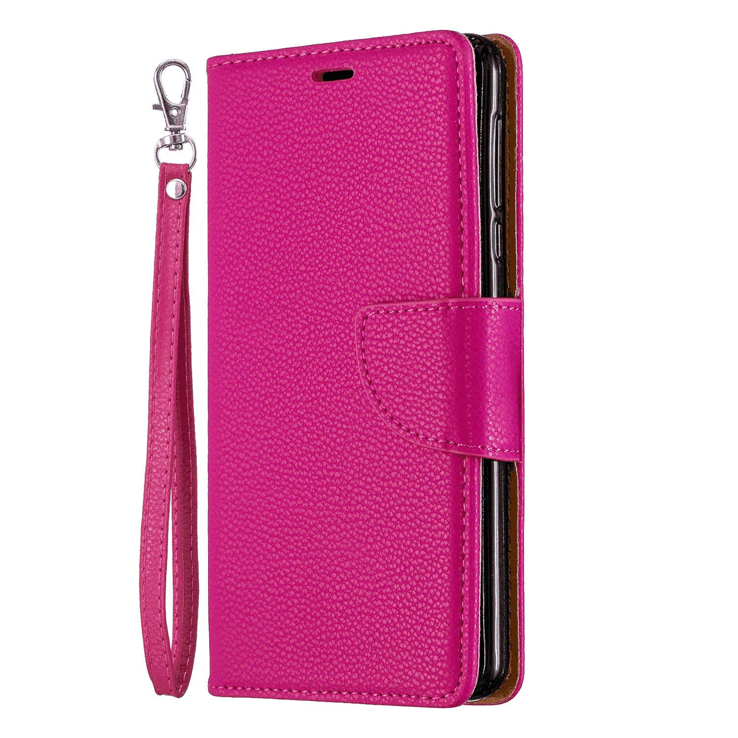 iPhone XR Flip Case Cover for iPhone XR Leather Kickstand Mobile Phone Cover Extra-Shockproof Business Card Holders with Free Waterproof-Bag Fashion