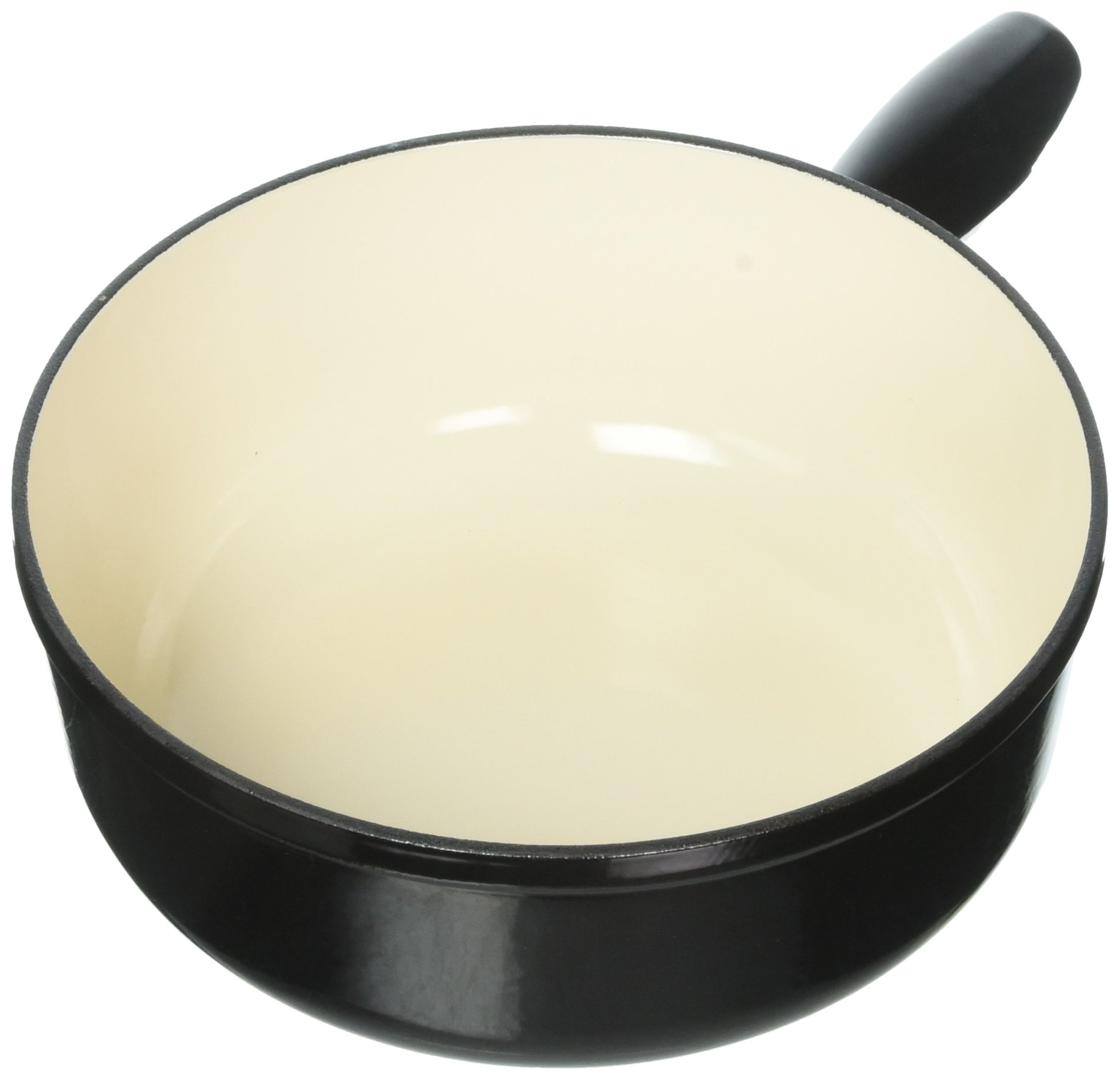 Kuhn Rikon Induction of Cast Iron Fondue Pot, 9.45'', Black by Kuhn Rikon (Image #1)