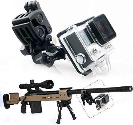 Universal Gopro Gun Fishing Rod Bow Fixing Mount Sportsman