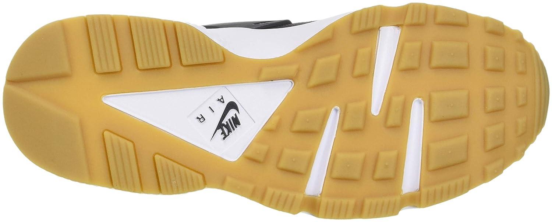 NIKE Damen Run Air Huarache Run Damen Premium Laufschuhe Mehrfarbig (Oil Grau/Oil Grau/schwarz/Weiß 018) 777571