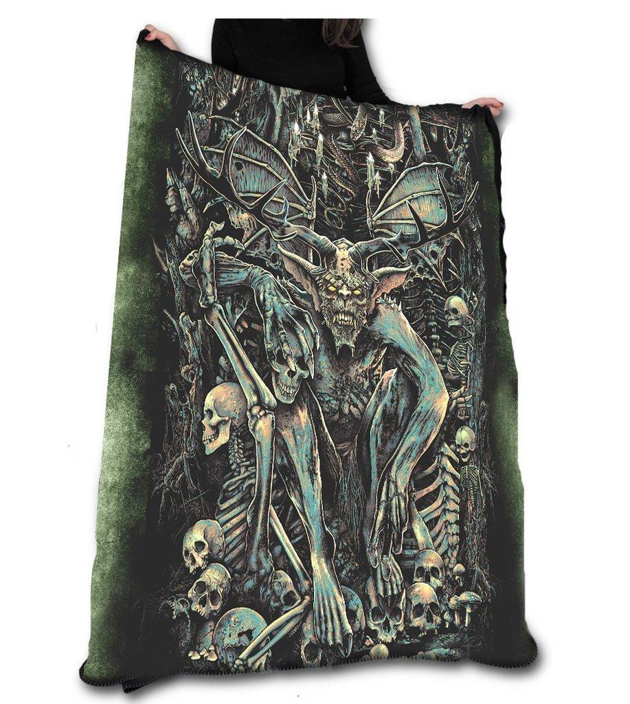 The Lair Fleece Blanket/Throw/タペストリーetc。公式Chris Lovell Offical Merchandise B01N2BGHDW