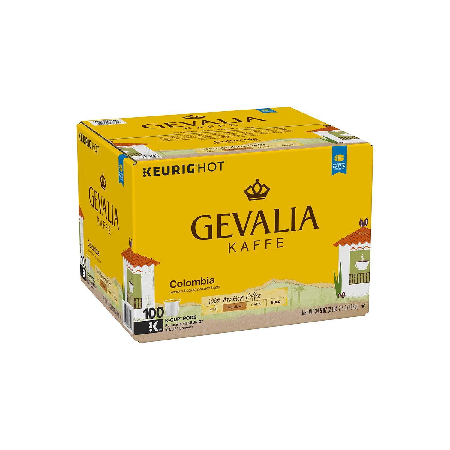 Gevalia Columbian Coffee (100 K-Cups) by Gevalia