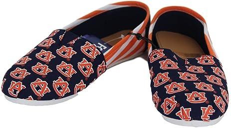 Auburn Tigers Hard Sole Stripe Slipper by My Sports Shop hLl1Fu