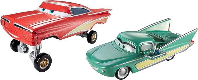 Cars 2 - Pack 2 Coches (Mattel CKN49): Amazon.es: Juguetes y juegos