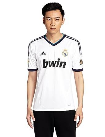 Real Madrid C.F. adidas Camiseta de fútbol, 2012-13: Amazon.es: Ropa y accesorios