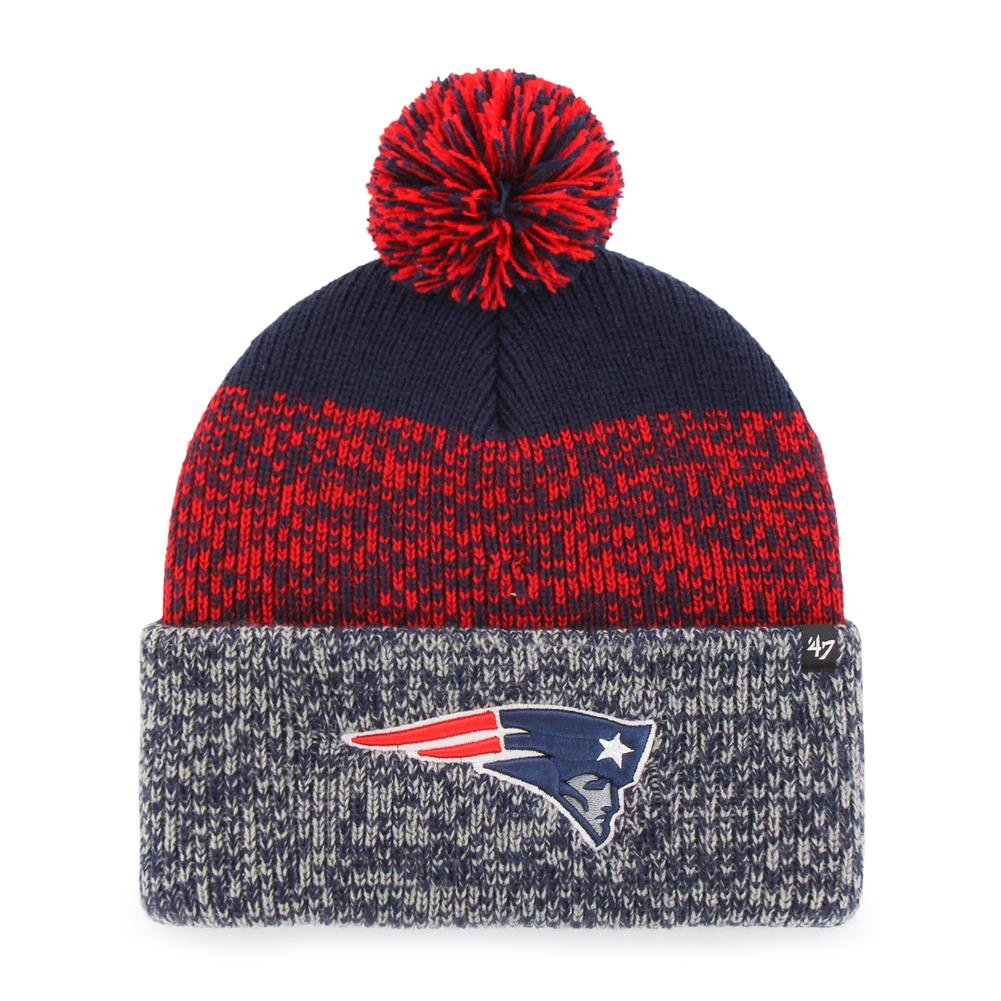 Amazon.com    47 New England Patriots Beanie Static Cuff Knit Hat   Sports    Outdoors 4661ea2cc7ce