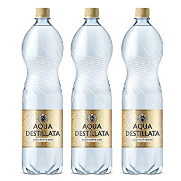69584d1daaba Distilled Water 4.5 L (3 Bottles x 1.5 L) 100% Pure Steam Distilled  Water/Medical Grade/Food Grade/TDS 000 ppm/BPA Free